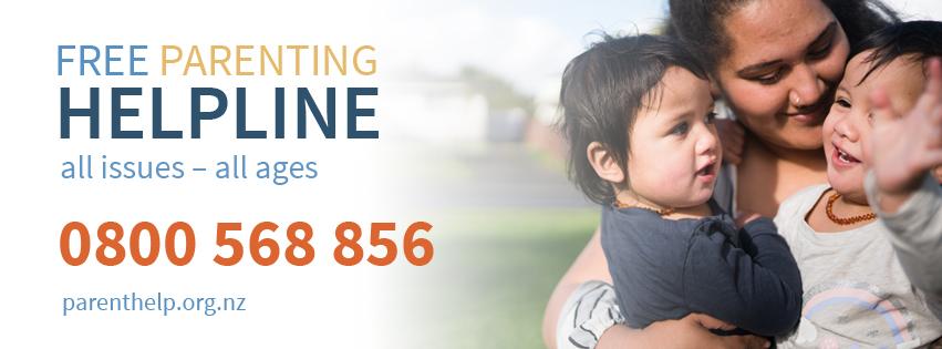 Free parenting helpline